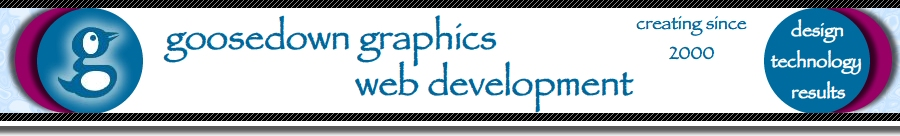 Goosedown Graphics Web Development